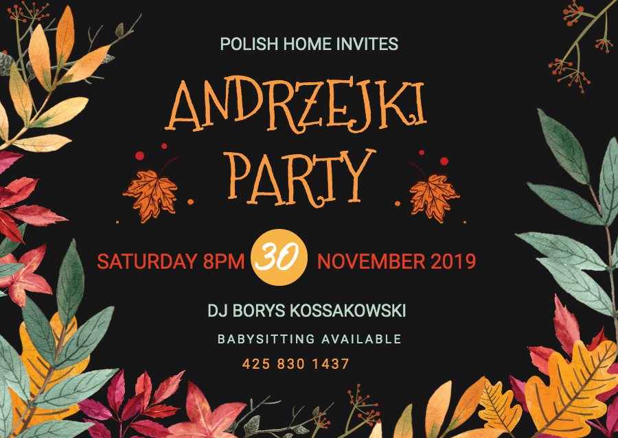 Andrzejki / St. Andrew's Night Party