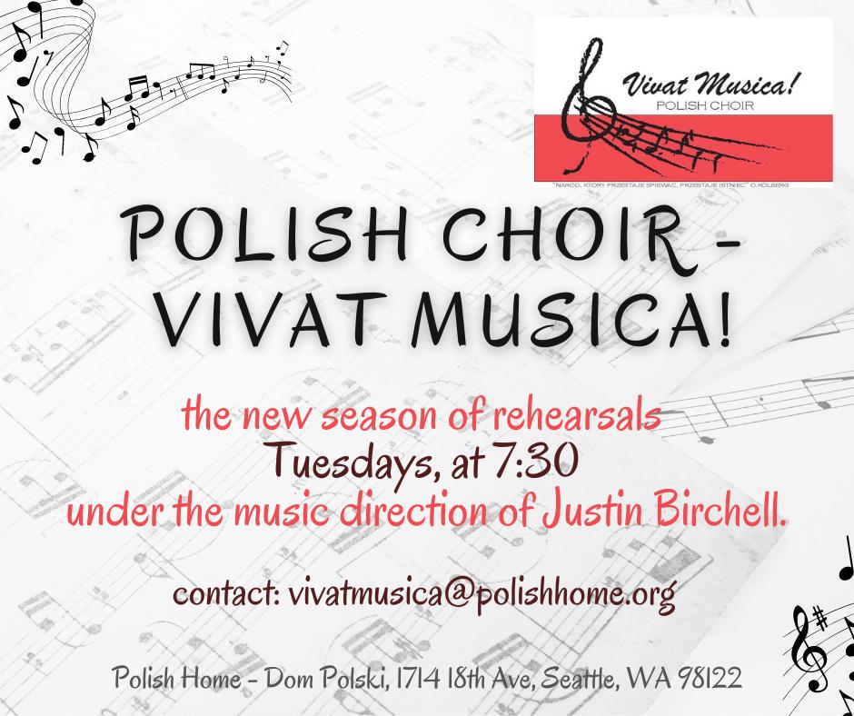 Vivat Musica! Polish Choir Rehearsals