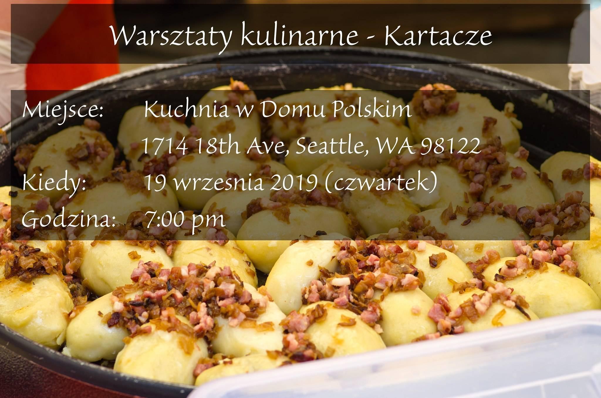 Warsztaty Kulinarne: Kartacze