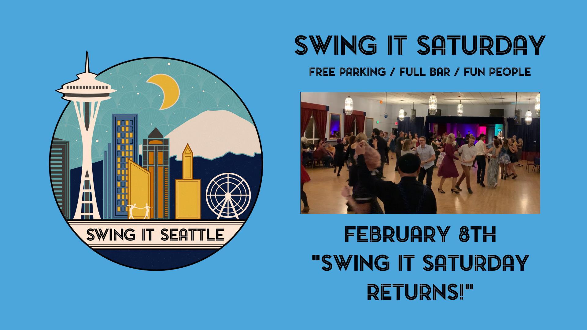 Swing It Saturday Returns!