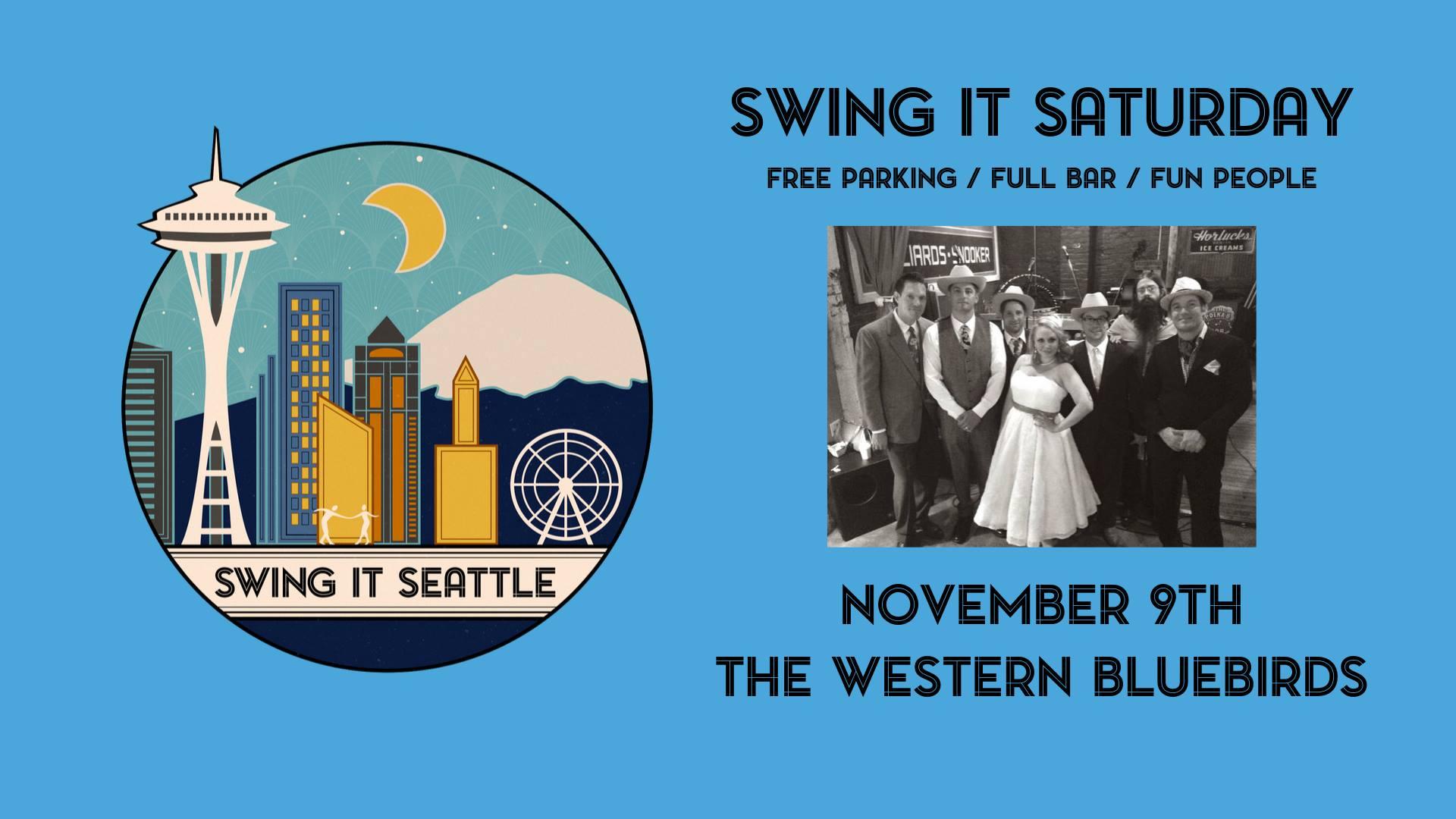 Swing it Seattle presents: