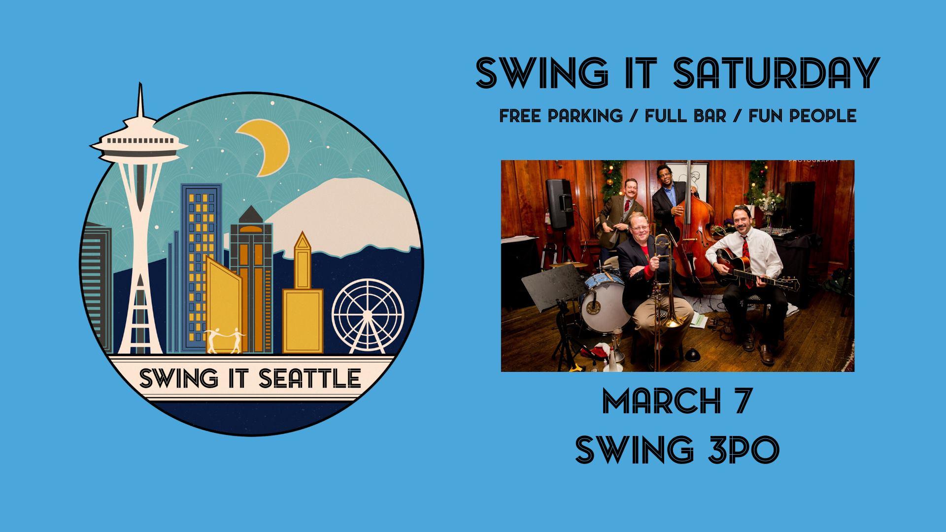 Swing It Saturday – Swing 3PO